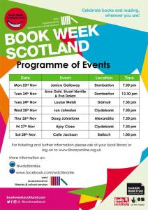 West Dunbartonshire Libraries - Boook Week Scotland